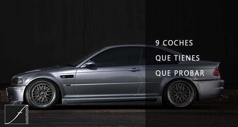 9 coches que tienes que probar