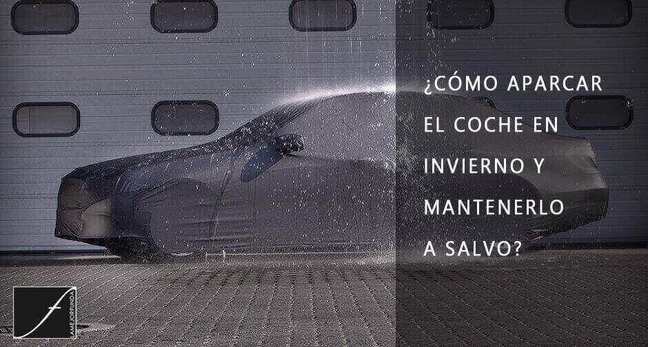 Funda de exterior para coche. Contra lluvia y hielo. Aparcar el coche en invierno.