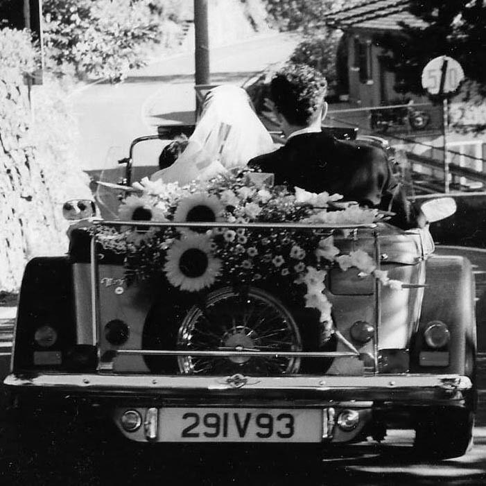 Gio&Cris. Boda coche clasico